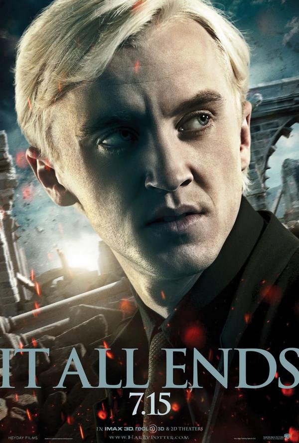 Tom Felton Draco Deathly Hallows