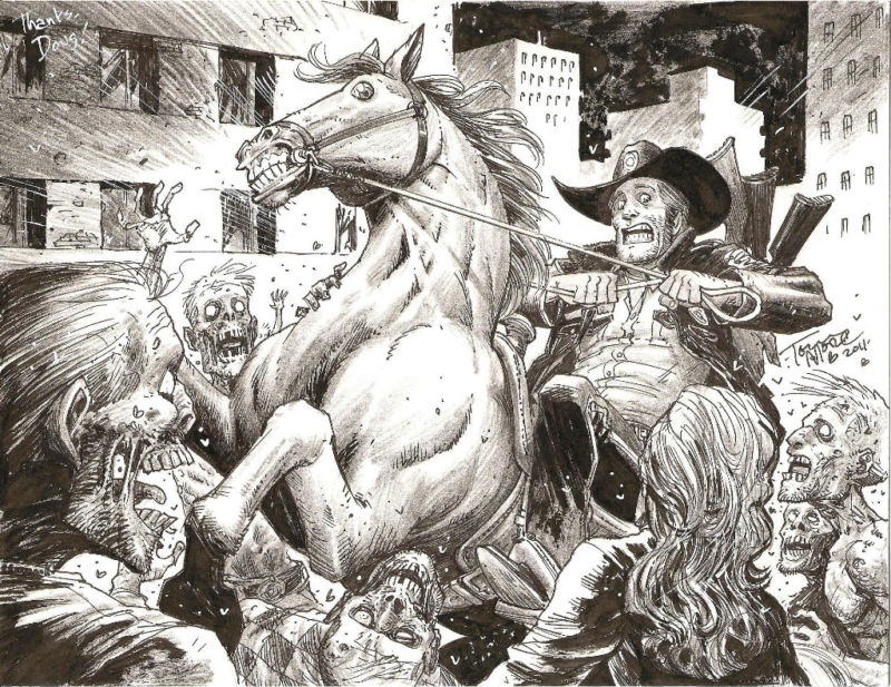 Walking Dead Tony Moore