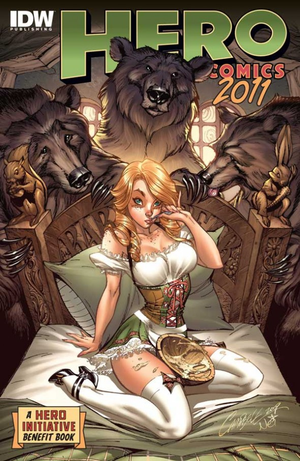 Hero Comics 2011 cover by J. Scott Campbell
