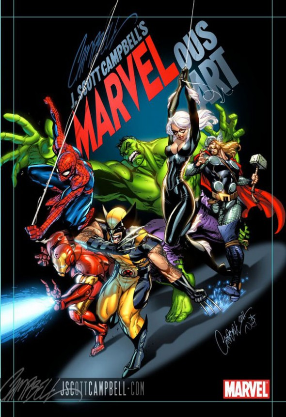 J. Scott Campbell MARVELous Art