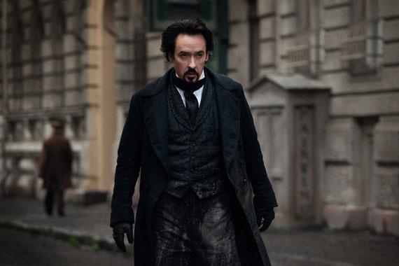 John Cusack as Edgar Allen Poe