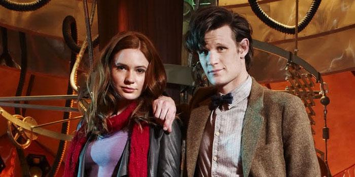 Matt Smith and Karen Gillan (Dr. Who)