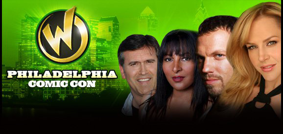 Wizard World Philadelphia Programming featuring Bruce Campbell, Julie Benz