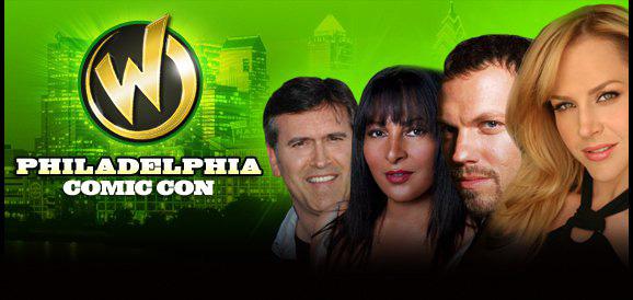 Wizard World Philadelphia Programming featuring Bruce Campbell, Julie Benz