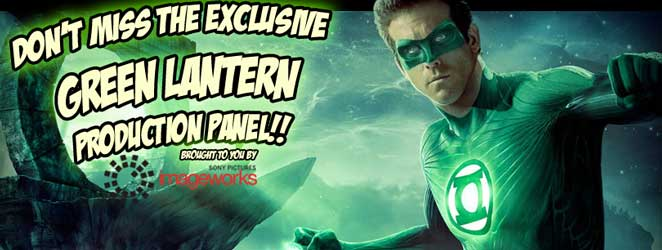 Green Lantern Production Panel at ACE