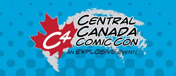 C4 Central Canada Comic Con logo