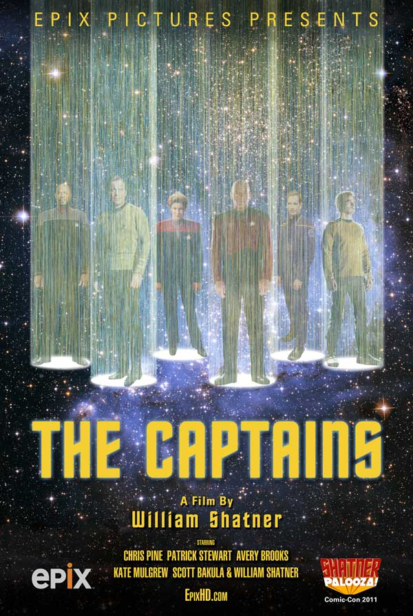 The Captains with William Shatner and Avery Brooks