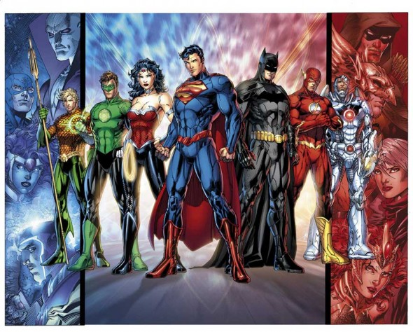 'Toon Tumbler SDCC 2011 Exclusive Justice League