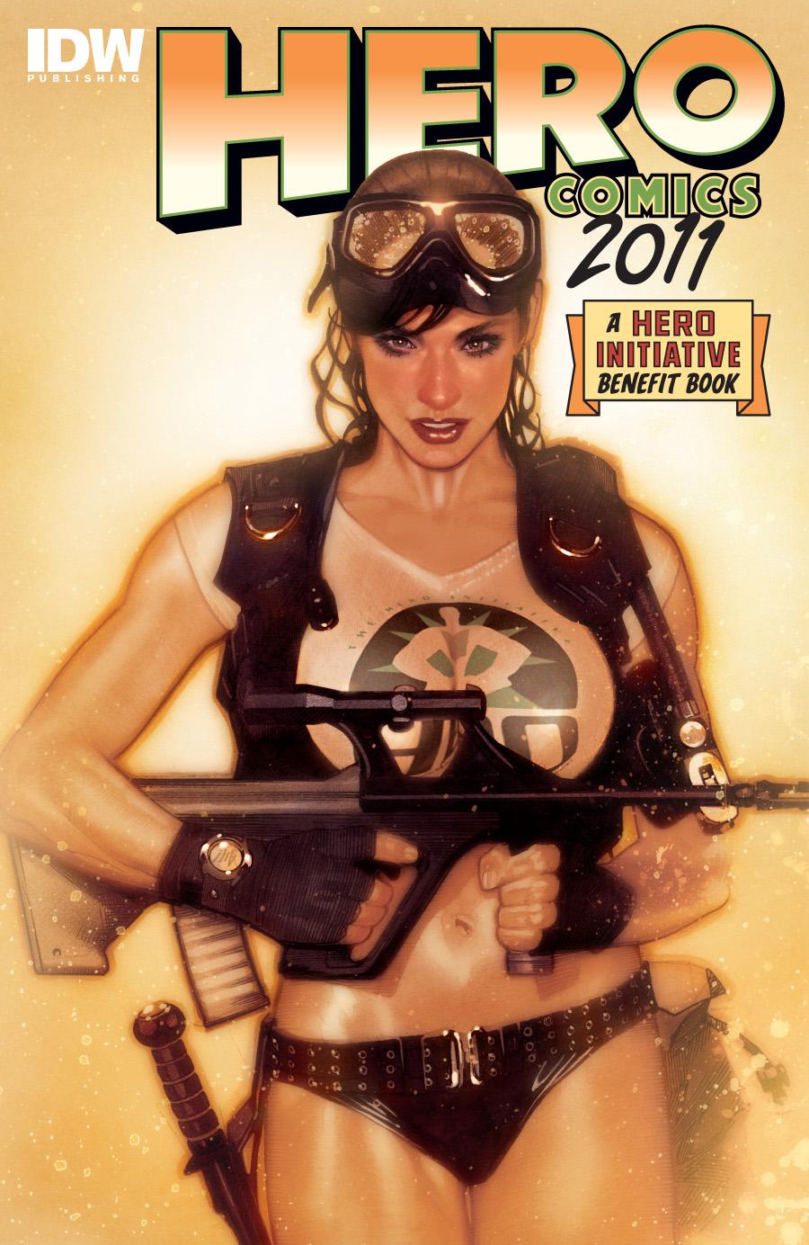 Hero Comics 2011 Adam Hughes