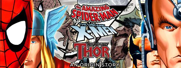 Marvel Origins Storybooks