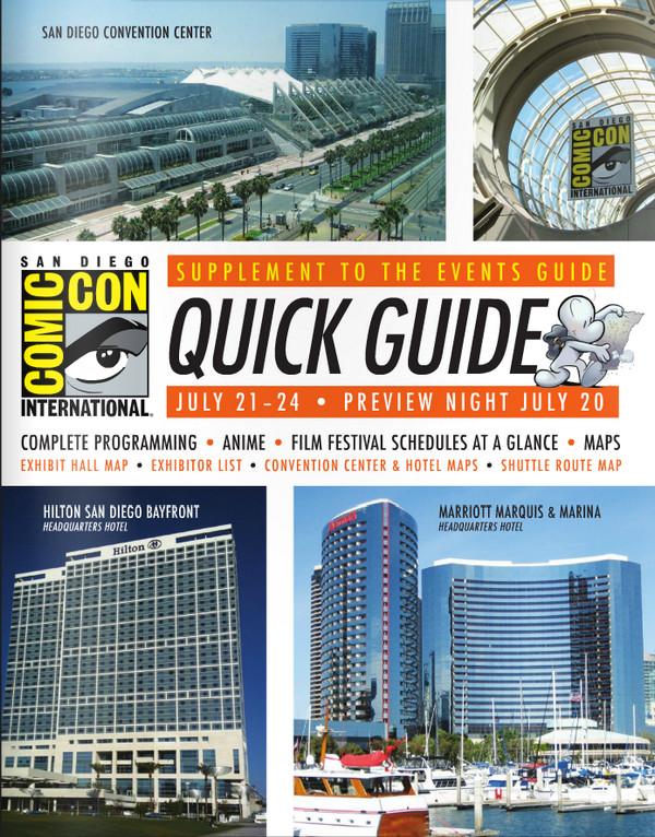 SDCC Comic-Con Quick Guide