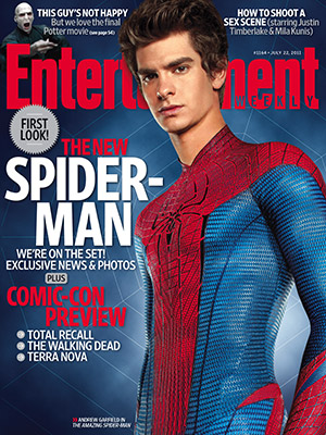 Amazing Spider-Man Entertainment Weekly cover