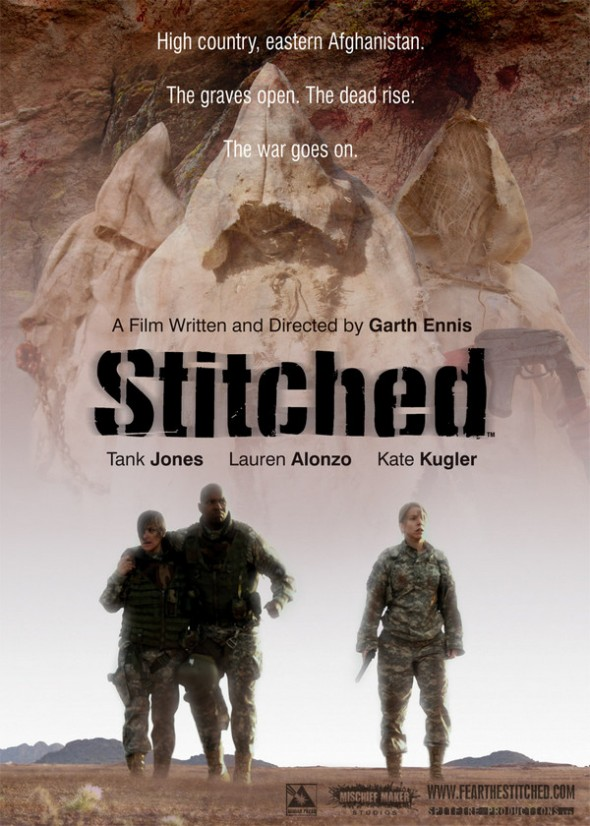 Stitched movie poster | Garth Ennis