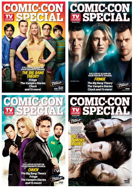 TV Guide Comic-Con 2011 Covers