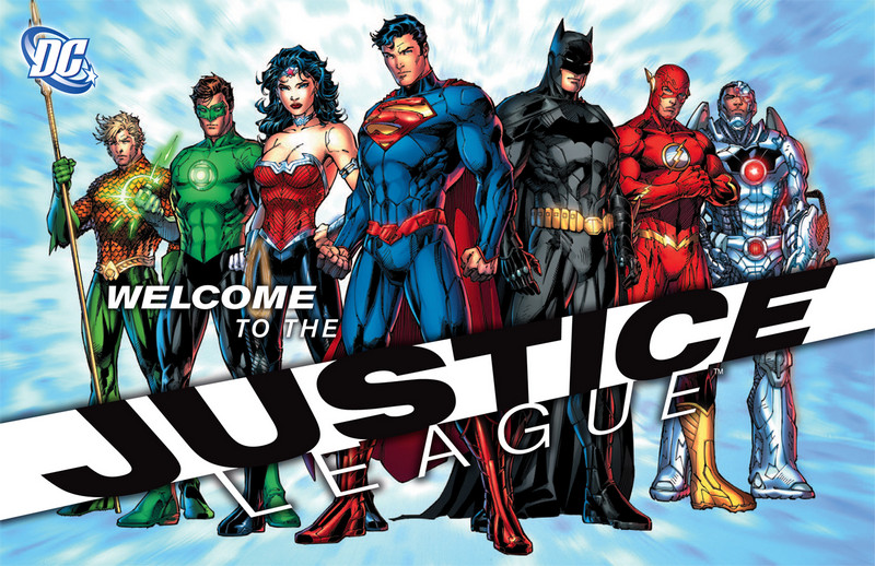 Welcome to the Justice League Jim Lee SDCC