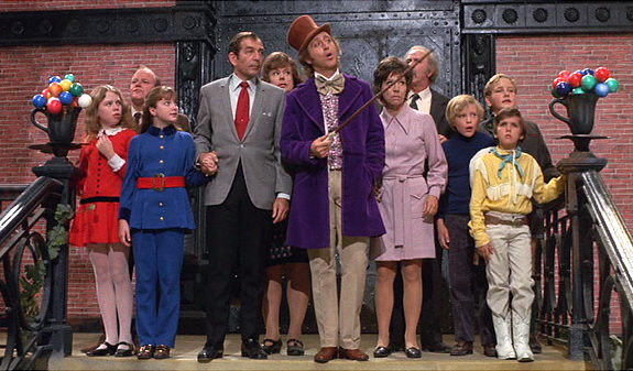 Original Willy Wonka kids