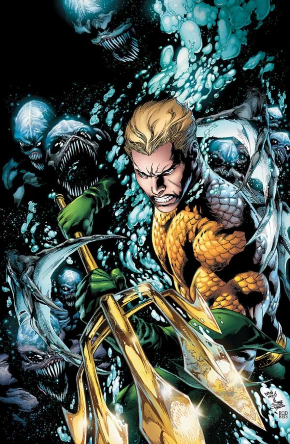 Aquaman 1 by Ivan Reis