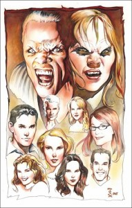 Buffy Lithograph