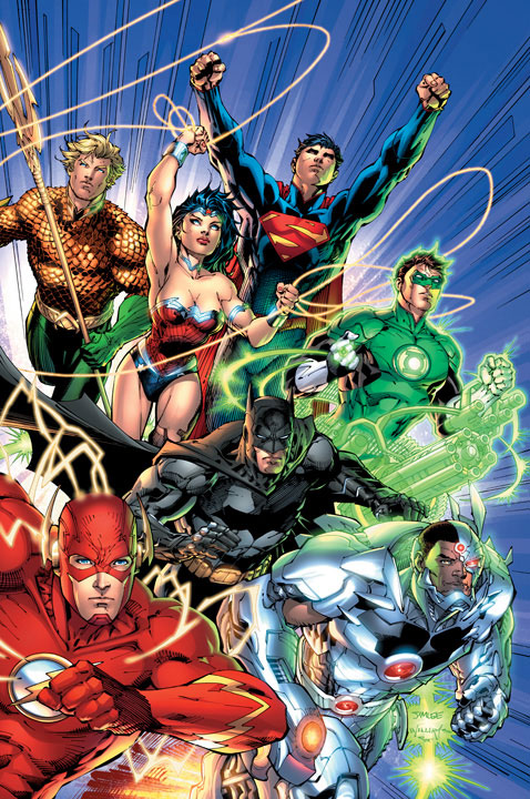 Jim Lee Justice League #1