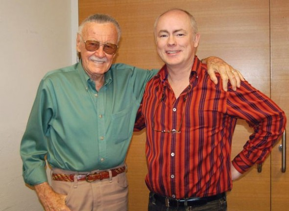 Stan Lee with J. David Spurlock
