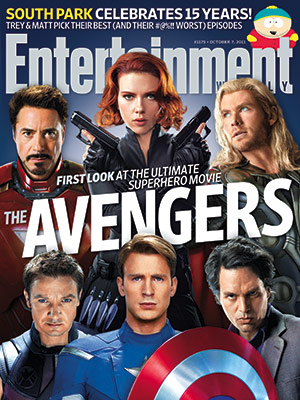 Entertainment Weekly The Avengers