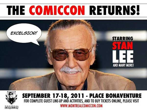 Montreal Comiccon Stan Lee
