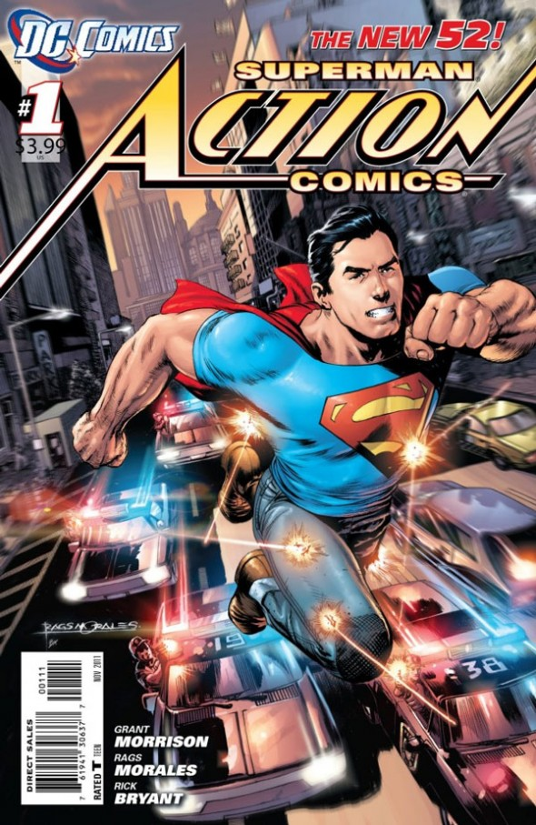 Action Comics Rags Morales