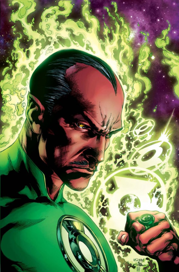 Green Lantern Doug Mahnke