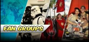 Wizard World fan groups