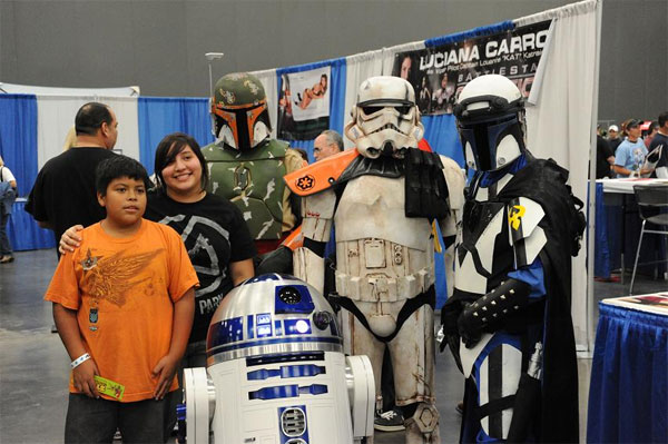 Star Wars Fans (Photo by Andew Gamble)
