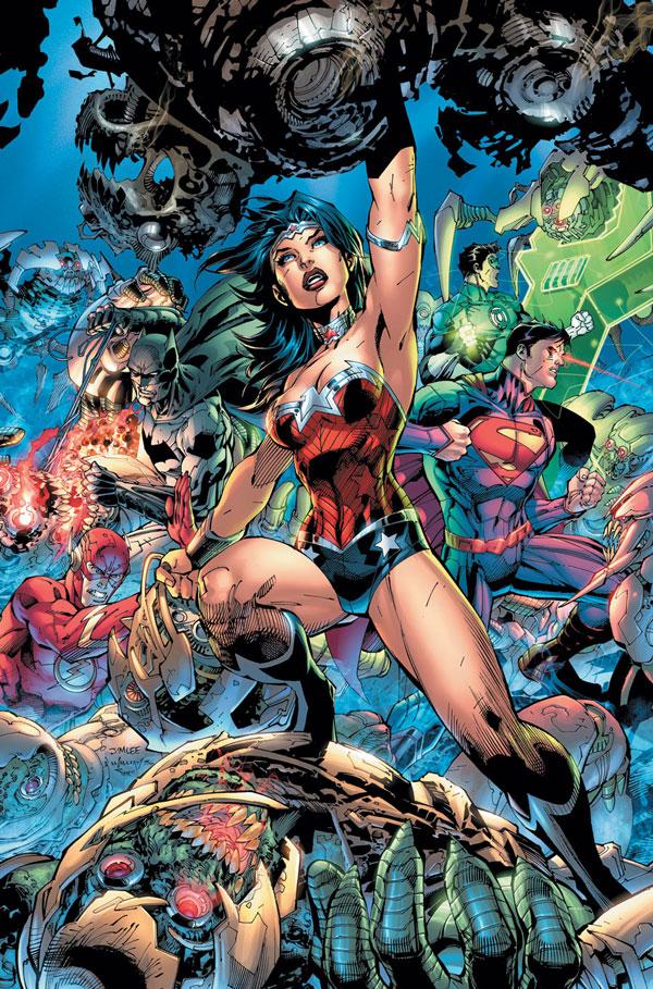 Jim Lee Justice League