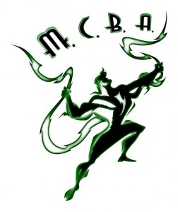 Midwest Comic Book Association logo