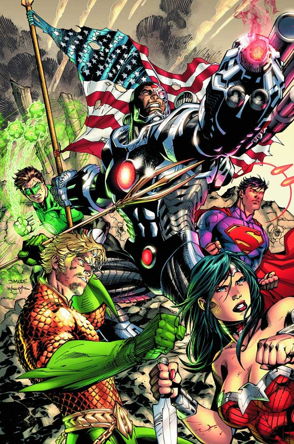 Jim Lee Justice League 5