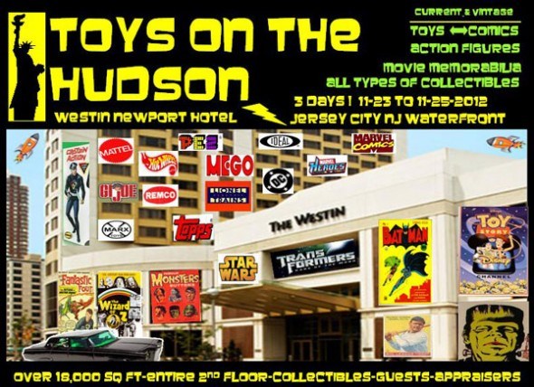 Toys on the Hudson Postcard