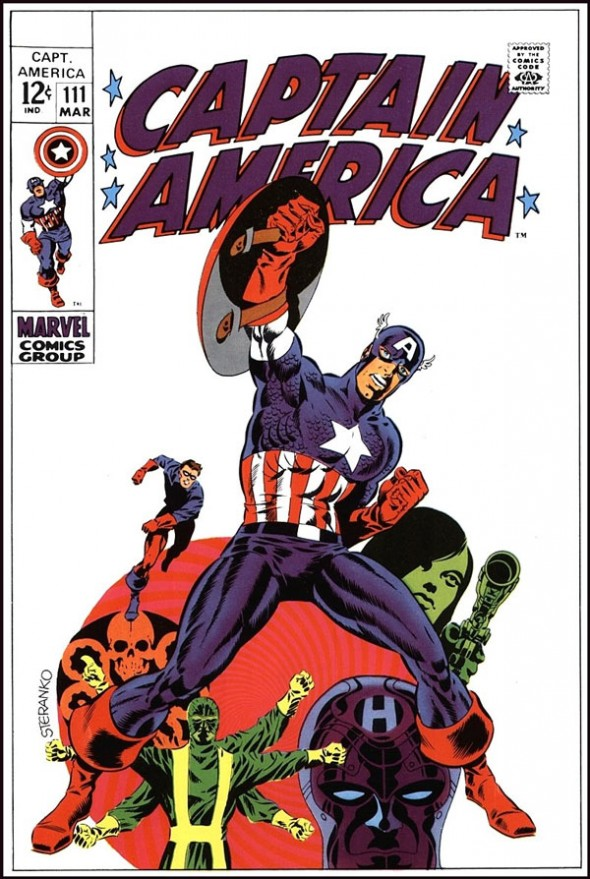 Captain America Jim Steranko