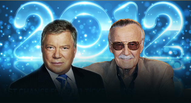 William Shatner and Stan Lee