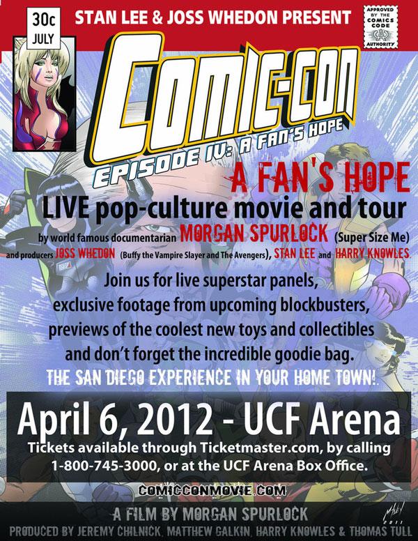 Comic Con Tour