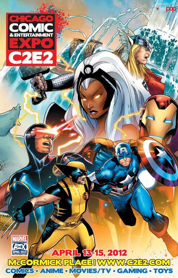 Marvel at C2E2 2012