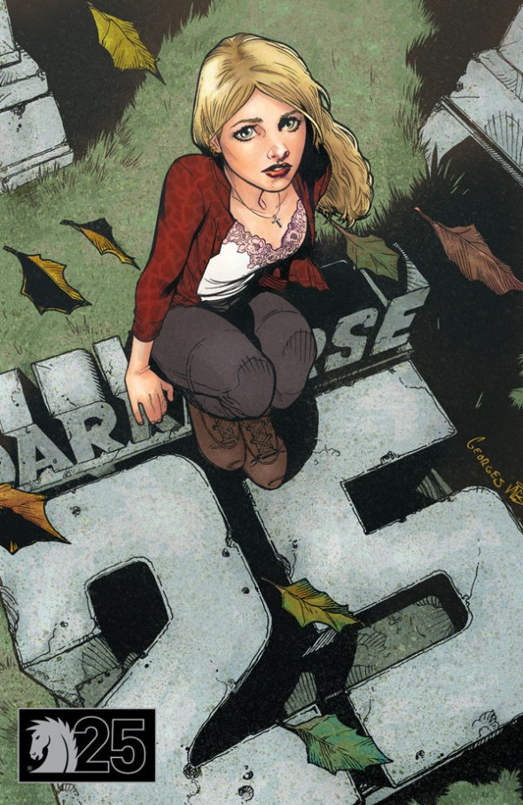 Buffy Dark Horse 25 Cover