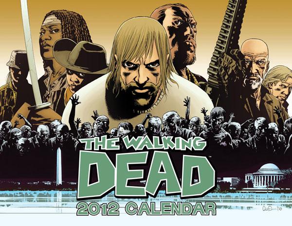 Walking Dead 2012 Calendar