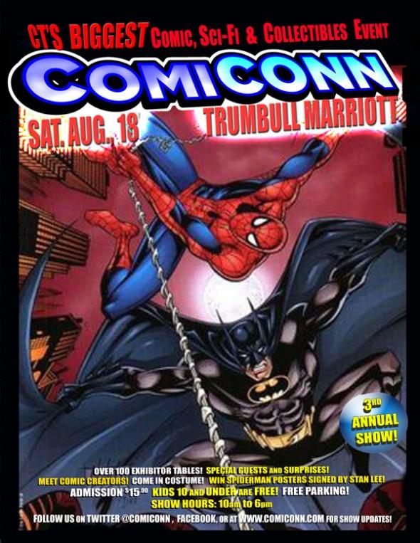 ComiCONN flyer