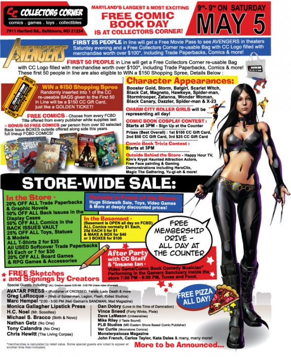 Valiant Free Comic Book Day: Convention Scene