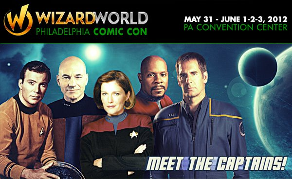 5 Captains Star Trek