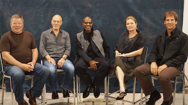 5 Star Trek Captains