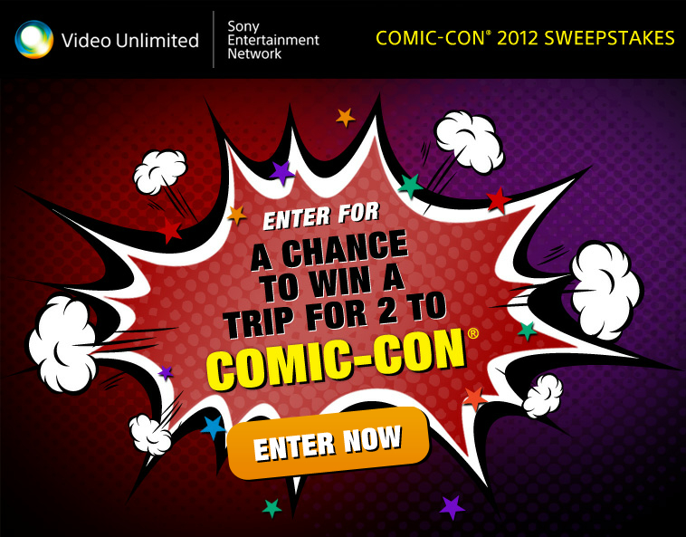 Sony SDCC Sweepstakes