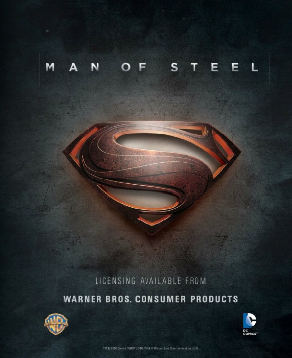 Man of Steel licensing