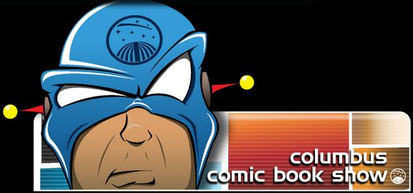 Columbus Comic Book Show header