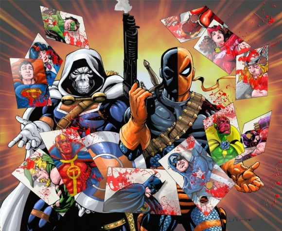 Deathstroke and Taskmaster