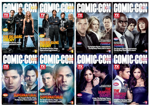 TV Guide SDCC 2012