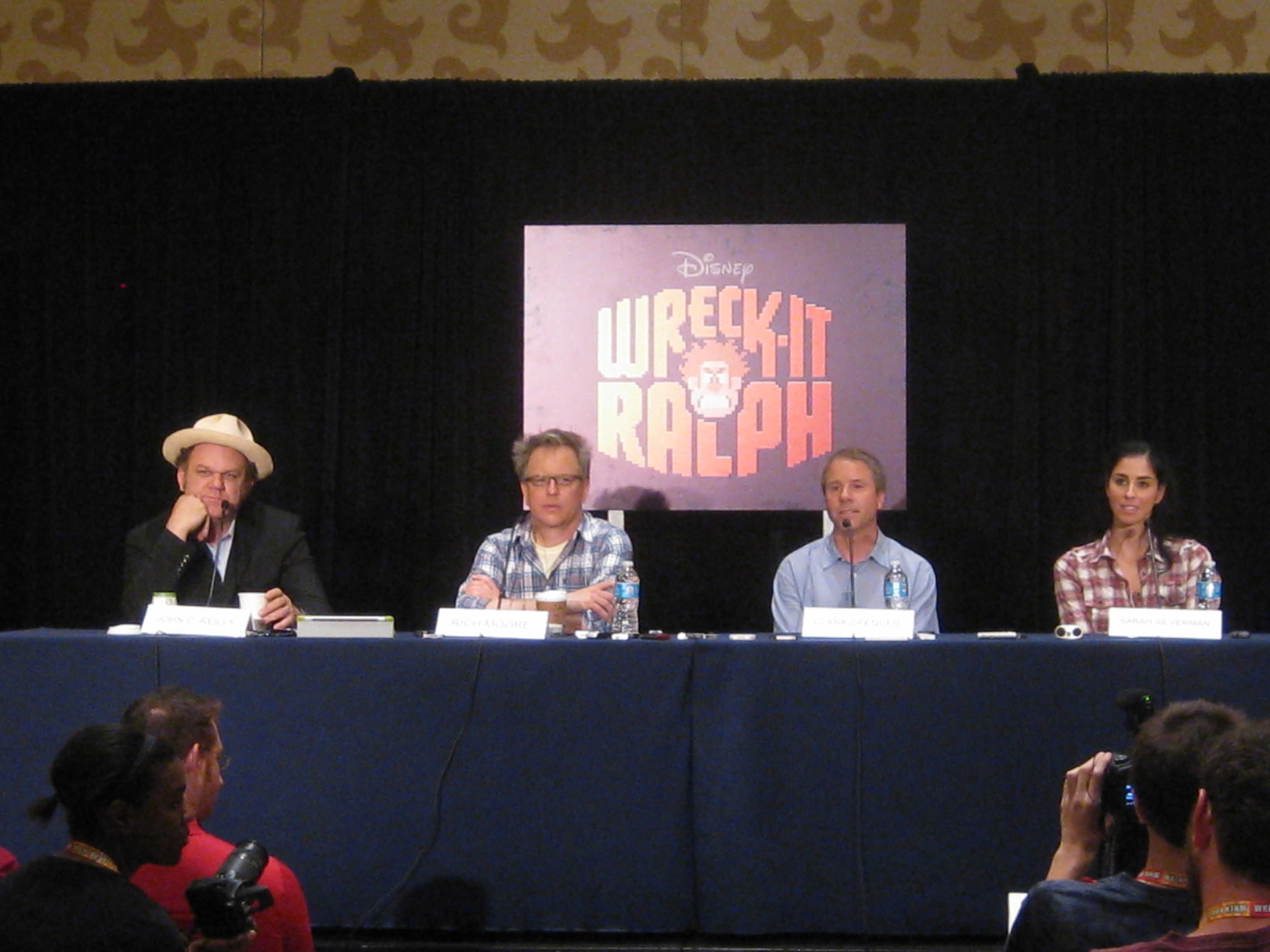 Scene And Heard Wreck It Ralph Press Conference At Sdcc 2012